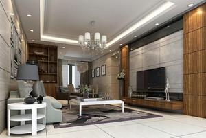 2016年新款现代简约风格精致室内客厅装修效果图大全