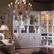 2016欧式大户型室内酒柜设计装修效果图鉴赏