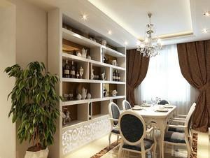 小户型欧式风格酒柜设计装修效果图