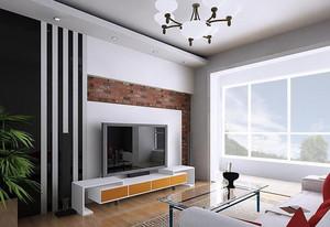 欧式现代小户型客厅设计装修效果图实例