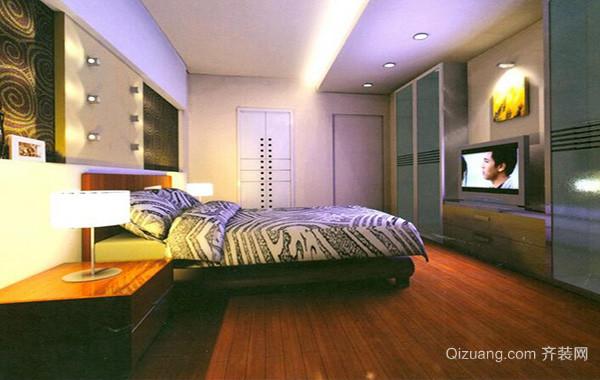 2016时尚的别墅欧式卧室室内设计装修效果图