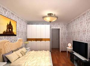 2016别墅欧式卧室吊顶设计装修效果图鉴赏