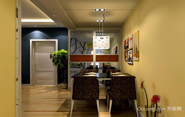 别墅欧式风格餐厅背景墙装修效果图鉴赏