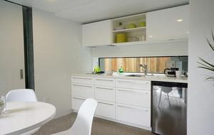 别墅型欧式风格小厨房吊顶装修效果图鉴赏