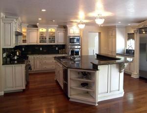 2016别墅小户型厨房设计装修效果图实例