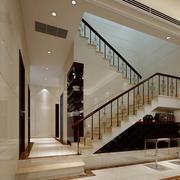 2016欧式别墅楼梯设计装修效果图欣赏