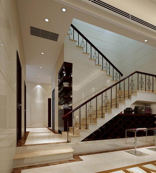 2016别墅现代简约客厅室内设计装修效果图