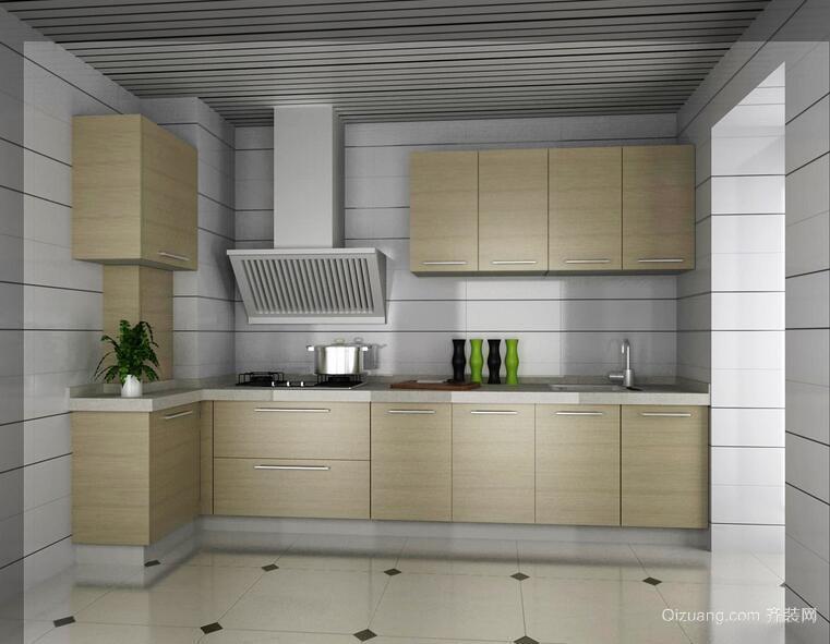 欧式风格厨房别墅型欧派橱柜效果图欣赏