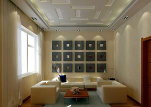 现代简约风格客厅踢脚线装修效果图赏析