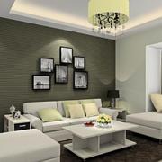现代简约风格时尚清新客厅飘窗装修效果图