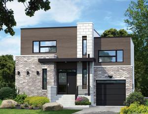 200平米现代风格两层别墅设计装修效果图赏析