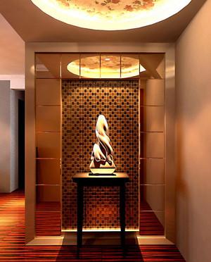 现代风格精致时尚大户型玄关装修效果图赏析