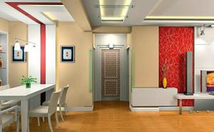 90平米现代简约风格门厅装修效果图赏析