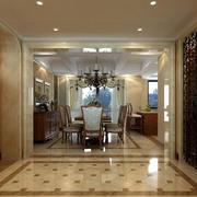 别墅型门厅装修效果图