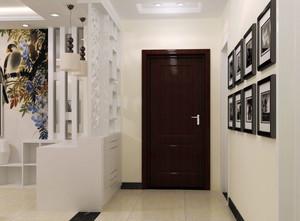 现代简约风格时尚创意进门玄关装修效果图赏析