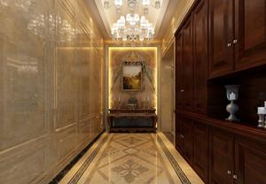 2016年欧式风格大户型门厅装修效果图实例