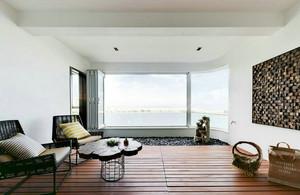 北欧风格别墅型客厅窗户装修效果图赏析
