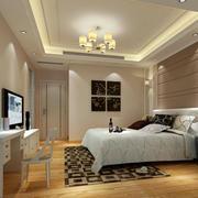 两室两厅简欧风格精致室内卧室装修效果图