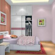 粉色女生卧室装修