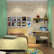 动感绿色儿童房装修