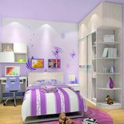 可爱女生儿童房效果图