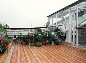 2016大户型现代阳台吊顶设计装修效果图欣赏