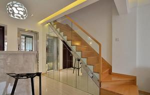 别墅欧式室内楼梯设计装修效果图欣赏