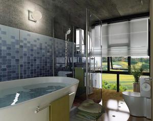 2016精致的大户型小浴室吊顶装修效果图实例