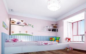 别墅型欧式儿童房吊顶设计装修效果图鉴赏