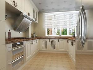 2016别墅欧式厨房室内设计装修效果图鉴赏