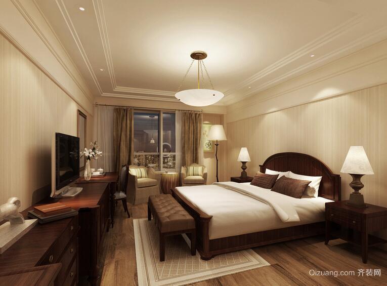 别墅型现代经典卧室设计装修效果图欣赏