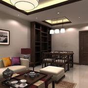 现代中式风格客厅设计