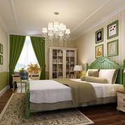 现代别墅欧式风格小卧室装修效果图实例