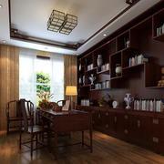 大户型新中式风格客厅效果图