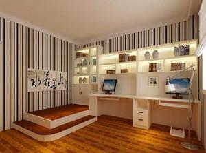 别墅型现代榻榻米设计装修效果图鉴赏