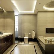 大户型欧式风格卫生间装修效果图欣赏