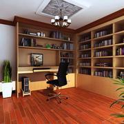 大户型现代书房室内设计装修效果图鉴赏
