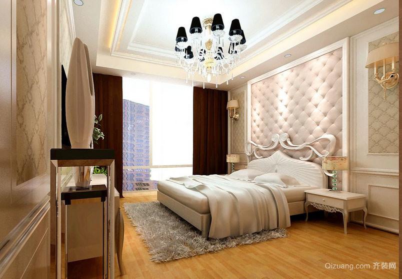 欧式风格大户型精致典雅时尚室内卧室吊顶装修效果图
