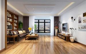 201大户型简欧风格客厅吊顶装修效果图实例