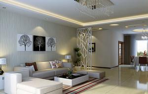 现代简约风格客厅精致吊灯