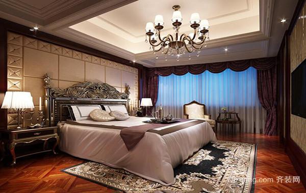 欧式经典的卧室室内吊顶设计装修效果图