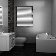 极简主义风格卫生间装修