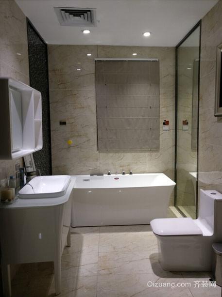 5平米现代简约时尚卫生间整体装修效果图