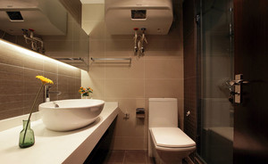 6平米都市风格简约精致卫生间装修效果图