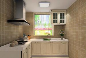 小户型欧式厨房室内吊顶设计装修效果图欣赏