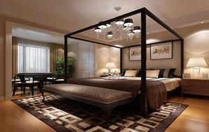新中式风格卧室吊顶设计