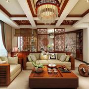精致中式风格客厅吊灯设计