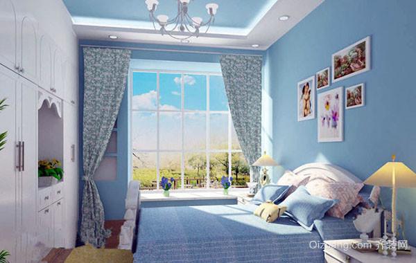 大户型时尚可爱简约温馨室内儿童房装修效果图