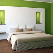 绿色时尚儿童房装修效果图