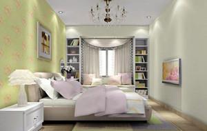 现代简约分格卧室效果图